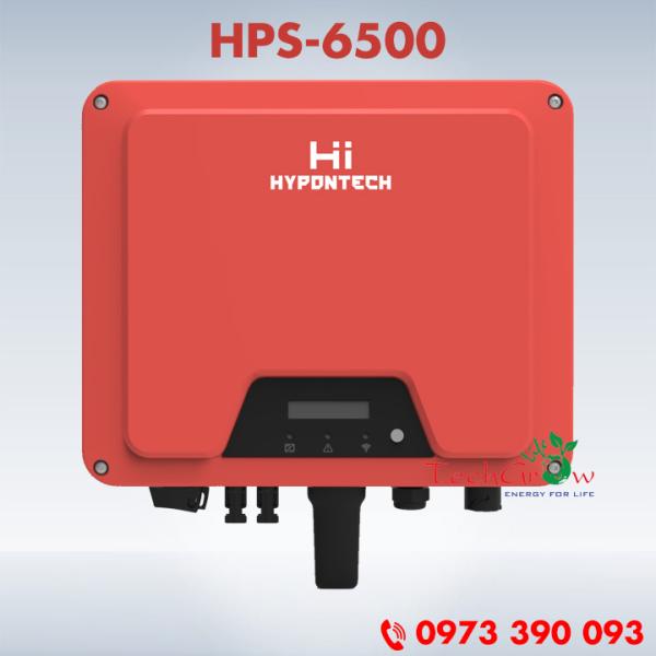 Biến tần hòa lưới HYPONTECH 6,5 kW 1 pha HPS-6500 - Inverter hòa lưới điện mặt trời
