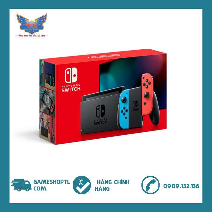 [TRẢ GÓP 0%] Máy Chơi Game Nintendo Switch With Neon-v2- New model