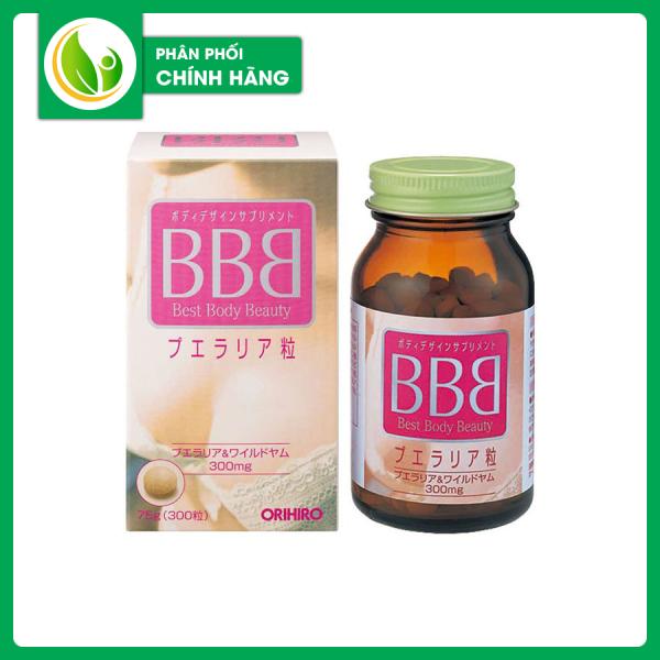 Viên Uống Nở Ngực BBB Best Beauty Body Orihiro Tăng Kích Thước Giúp Săn Chắc Vòng 1 tốt nhất