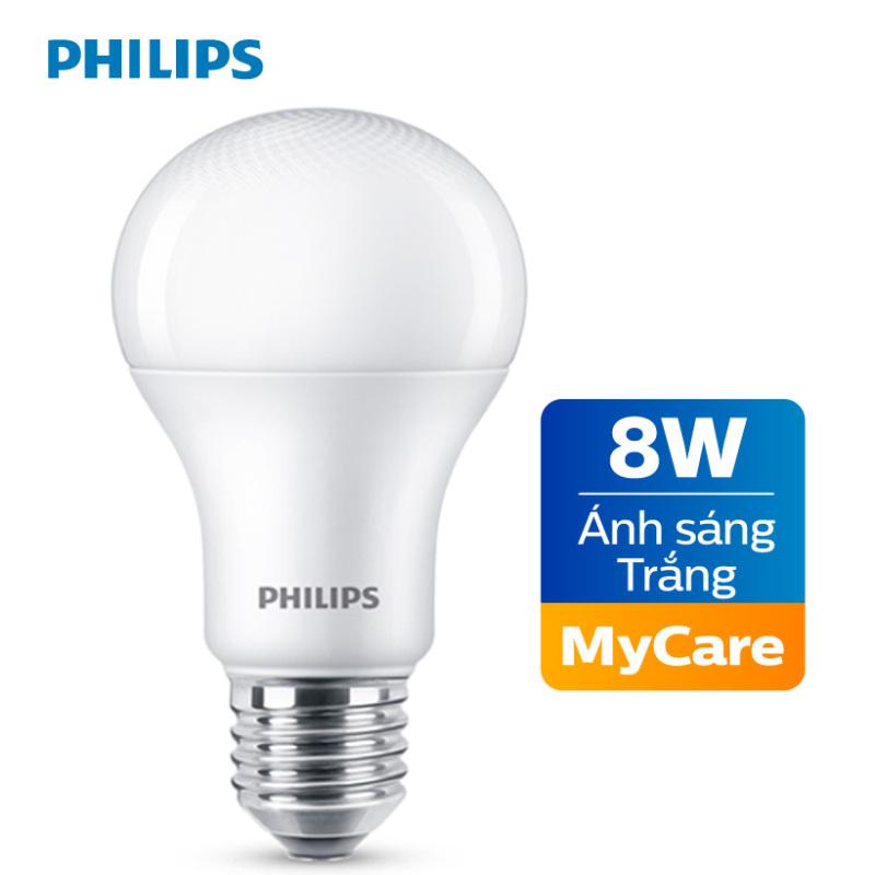 Bóng đèn Philips LED MyCare 8W 6500K E27 A60 - Ánh sáng trắng