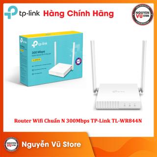 Router Wifi Chuẩn N 300Mbps TP-Link TL-WR844N - Hàng Chính Hãng thumbnail