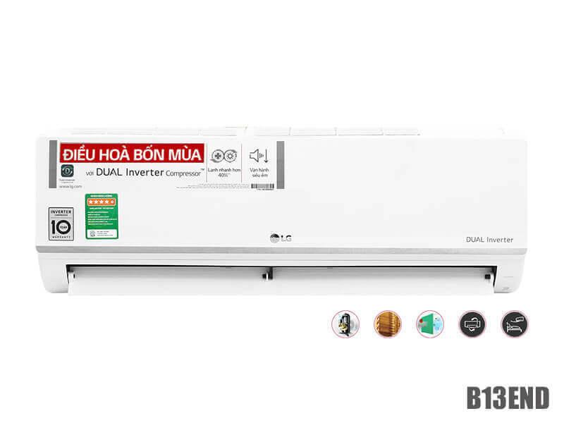 Bảng giá Điều hòa Inverter LG 13000BTU 2 chiều B13END