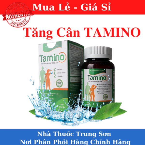 [HCM]Tăng cân TAMINO - Bổ Sung Hợp Chất Whey Protein từ Mỹ-TS001