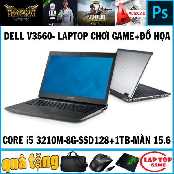 Bảng giá Dell Vostro V3560 ( chơi game+đồ họa) Core i5 3230M/ Ram 8G, ssd 128+ hdd 1tb, Màn 15.6in/ SIÊU BỀN BỈ/DÒNG ĐẮT TIỀN Phong Vũ