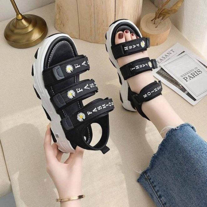 dép quai hậu/ sandal học sinh mẫu mới hàng siêu hot, đế cao su non êm chân, kiểu dáng hiện đại thiết kế tỉ mĩ giá rẻ