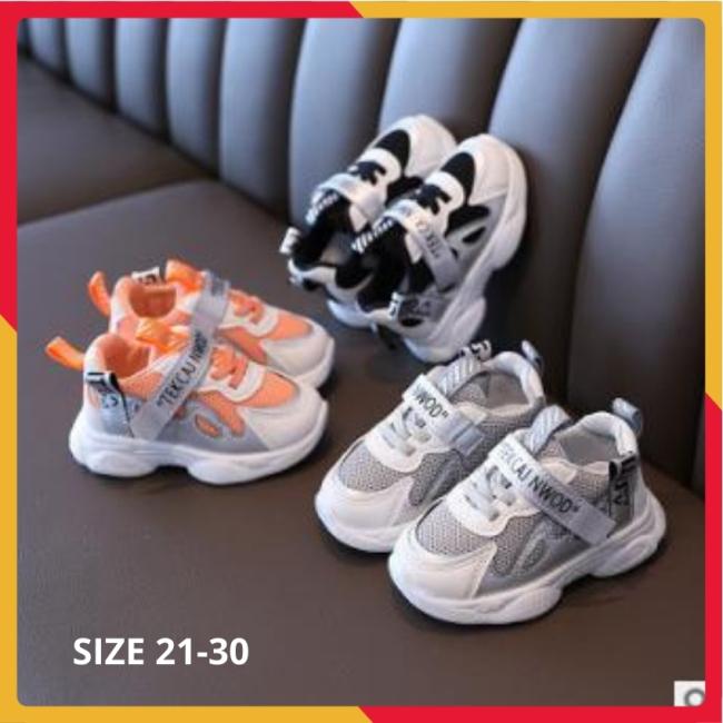 Giày Thể Thao Bé Trai Phong Cách Cá Mập Siêu Mềm Nhẹ Size 21-30 giá rẻ