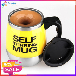 Ly khuấy tự động, cốc tự khuấy cao cấp tiện dụng cho việc pha chế cà phê thông minh, dung tích 450ml thumbnail