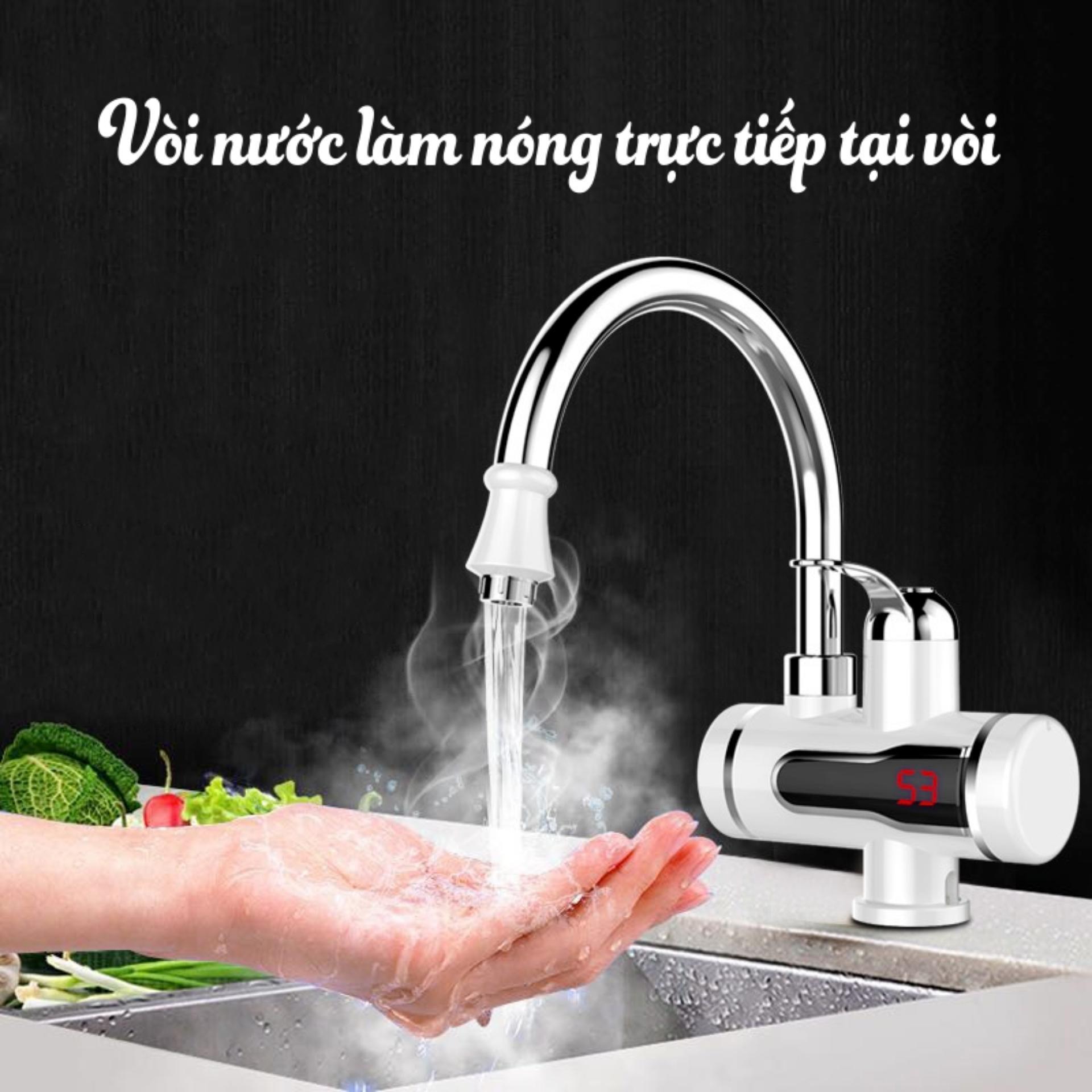 Bình nóng lạnh_Máy nước nóng trực tiếp tại vòi, tiện dụng, hàng cao cấp bảo hành uy tín 1 đổi 1 bởi Your Home
