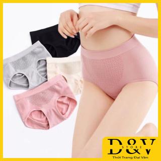 Bộ 4 quần lót nữ kháng khuẩn xuất Nhật quần lót, chất liệu cotton co giãn mềm mịn, co giãn 4 chiều (Thời Trang Đại Vân) thumbnail