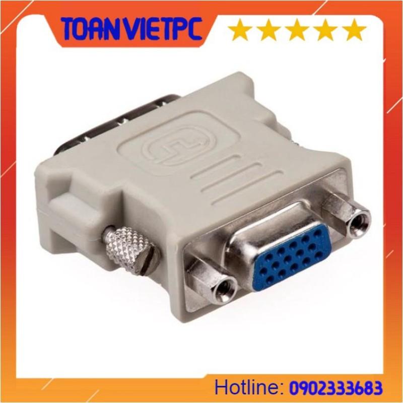 Bảng giá Đầu chuyển DVI 24+5 to VGA Phong Vũ