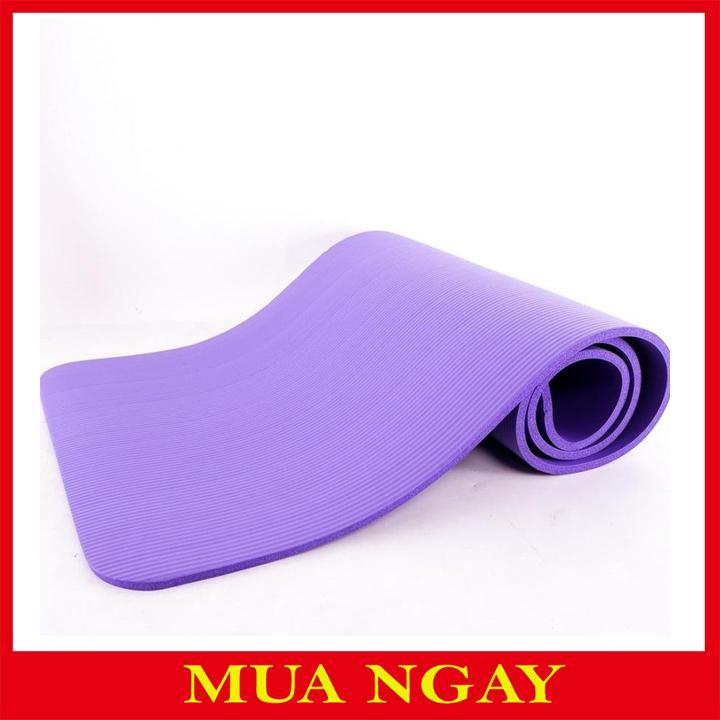 Thảm Tập Yoga Siêu Dày 10mm Cao Cấp