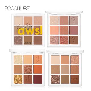 Focallure 9 màu matte&shimmer Lâu dài không thấm nước Eyeshadow bảng thumbnail