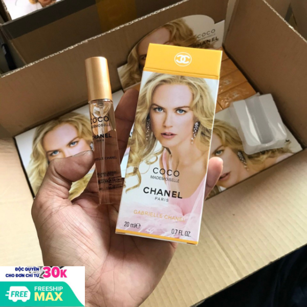 Nước Hoa Nữ Coco Chanel Paris 20ml,Có 3 Tầng Hương Độc Đáo