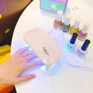Máy hong khô sơn móng tay SUN mini tiện lợi có đèn led 6W tiện lợi thumbnail