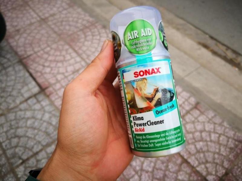 Khử mùi dàn lạnh xe ô tô SONAX