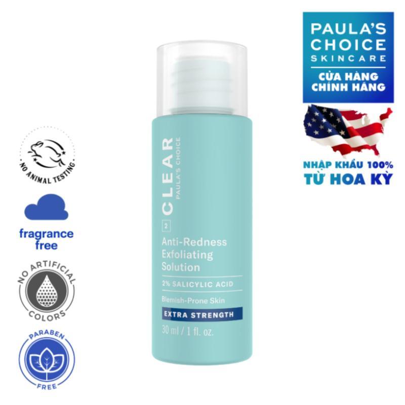 Dung dịch tẩy da chết chuyên sâu Paula's Choice Clear Extra Strength Anti-Redness Exfoliating Solution 30 ml-6216