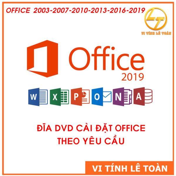 Bảng giá ĐĨA DVD CÀI ĐẶT ỨNG DỤNG VĂN PHÒNG OFICE THEO YÊU CẦU Phong Vũ