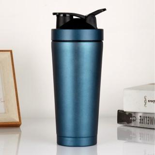 Bình Lắc Shaker Inox Tập Gym - Chọn Màu - Bình LắcThể Thao, Du Lịch Hãng Amalife Kèm Bóng Lò Xo Lắc thumbnail