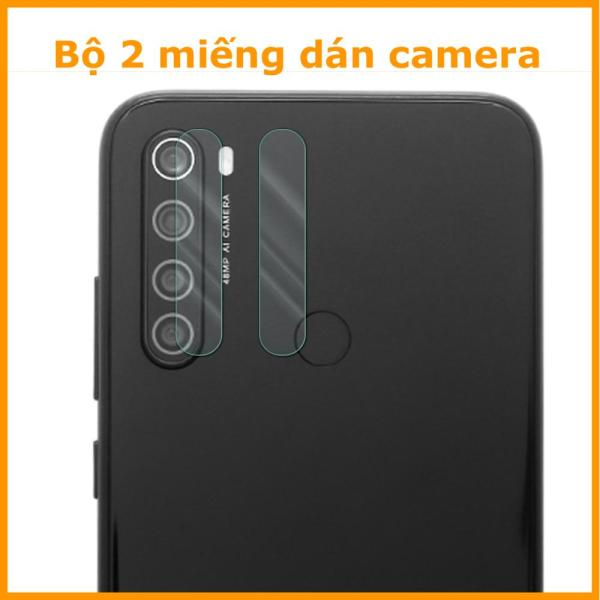 Giá Bộ 2 cường lực camera Xiaomi Redmi Note 8 , 8 Pro