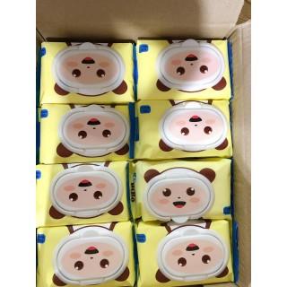 [CÓ GIẤY KIỂM ĐỊNH] Bịch 100 Khăn ướt BiBo không mùi, không paraben, an toàn cho trẻ sơ sinh, giấy ướt, giấy đa năng thumbnail