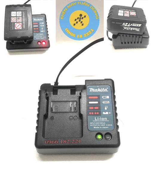 Sạc pin máy siết bulong Makita 72V, Hitachi 88V, Ken88V, Dewalt 99V