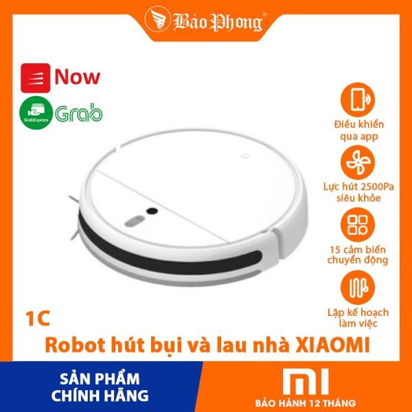 [Trả góp 0%]Robot Hút Bụi  Lau nhà XIAOMI Mijia Sweeping Robot 1C