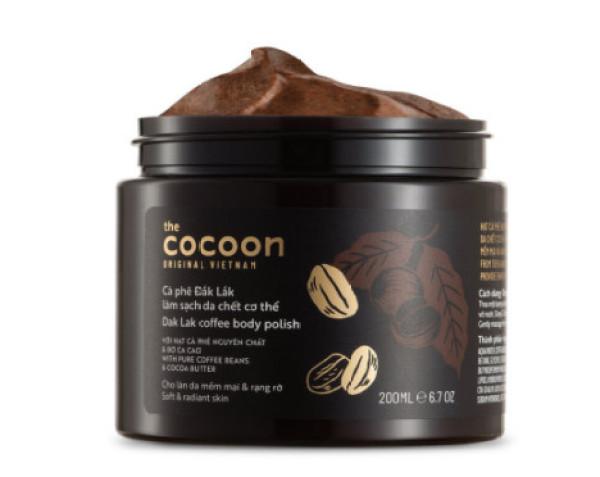 Tẩy Tế Bào Chết Body COCOON Cafe Đắk Lắk  200mL