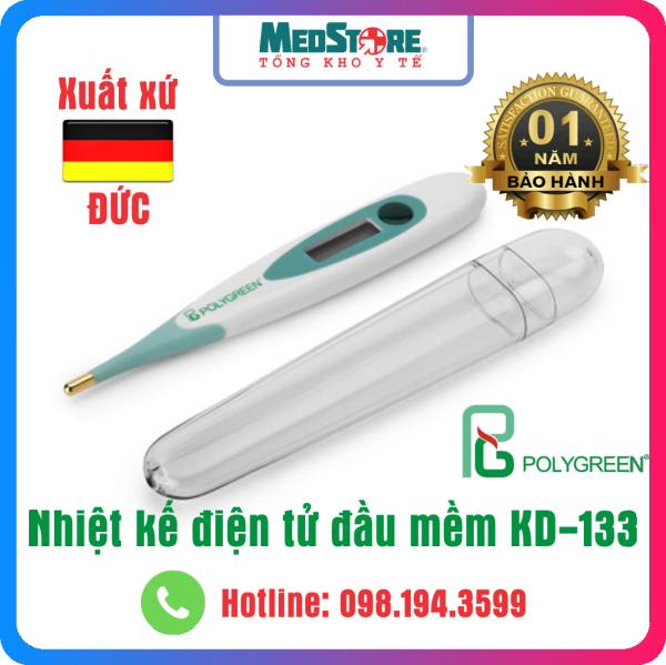 Nhiệt Kế Điện Tử Đầu Mềm PolyGreen KD133 - TBYT Medstore bán chạy