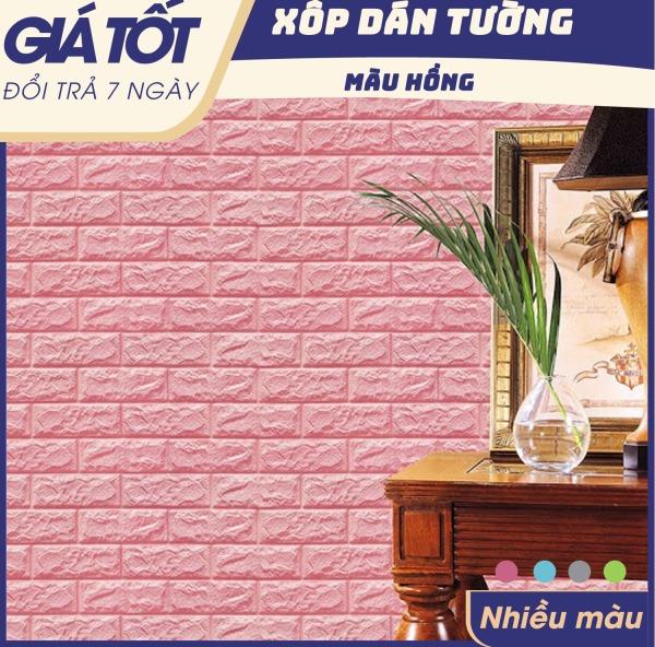 ( Chọn màu) Combo 10 tấm Xốp dán tường, tấm Xốp Dán Tường 3D Giả Gạch Bóc Dán / Chịu lực, chống nước, chống ẩm mốc / 70x77cm