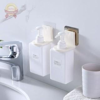 Giá móc treo cổ chai lọ nước rửa tay dầu gội đầu sữa tắm xà phòng dán tường siêu chắc thumbnail