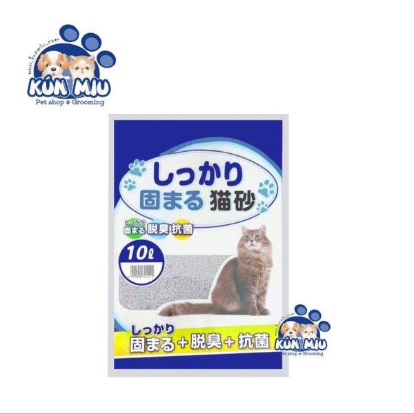 Cát vệ sinh cho mèo Nhật Bản 10L hương cà phê