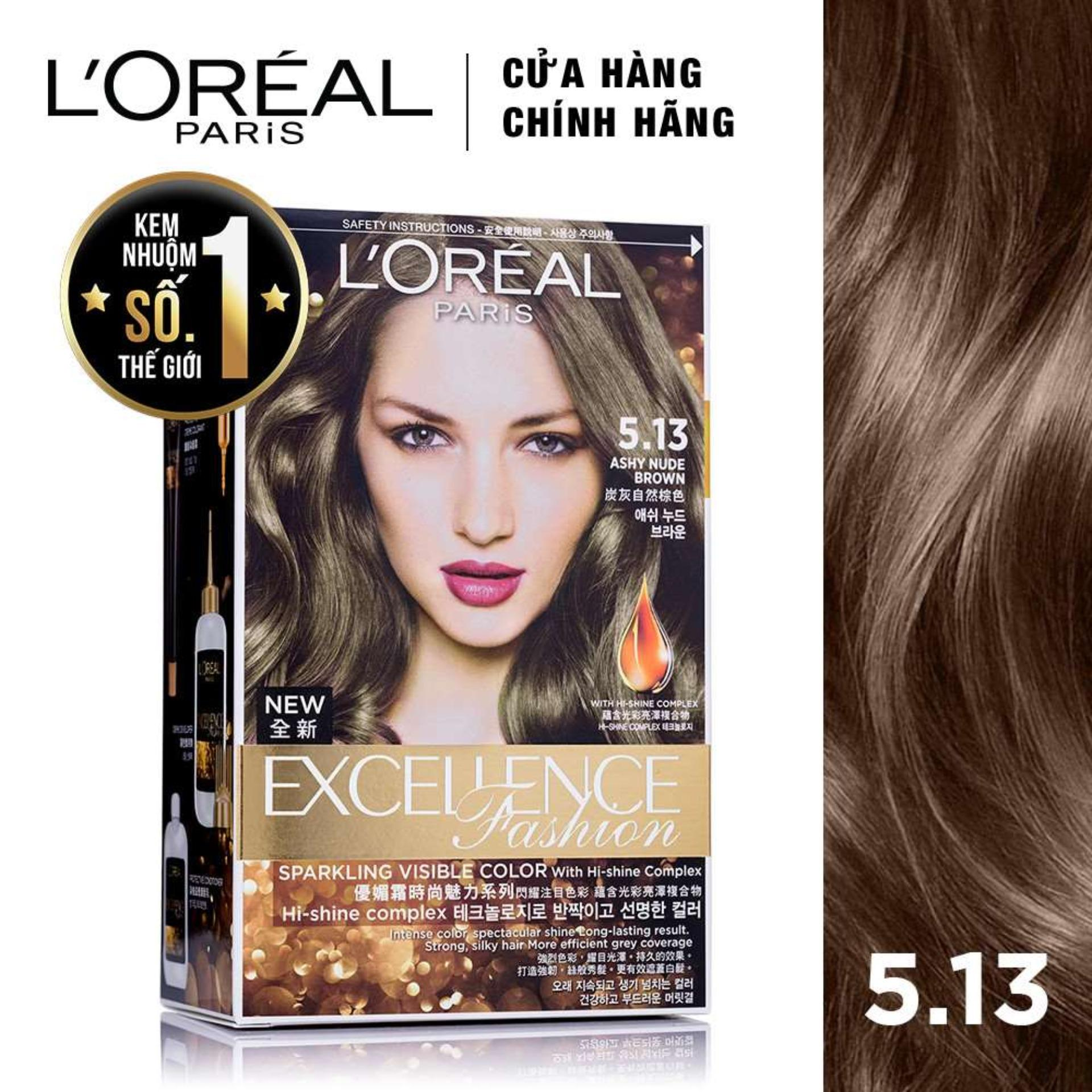 Kem nhuộm dưỡng tóc LOreal Paris Excellence Fashion 172ml