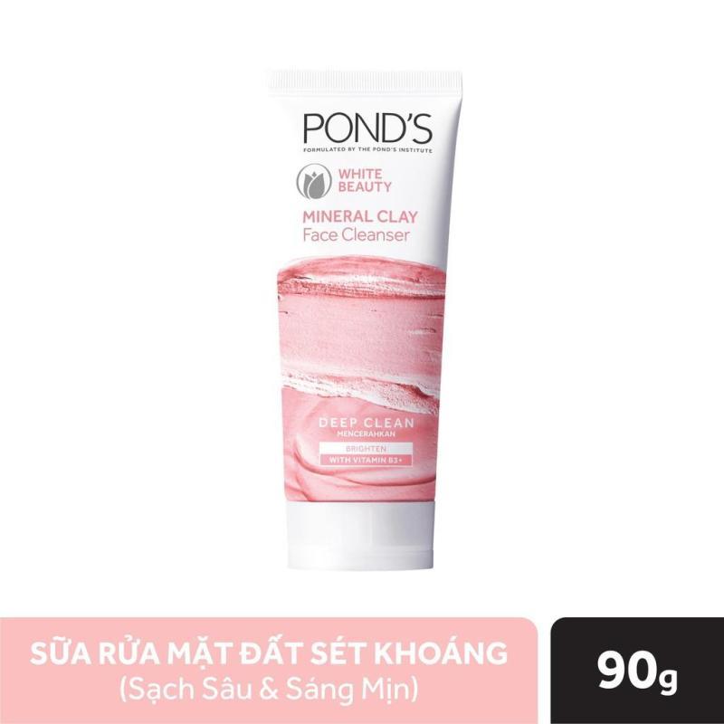 Sữa Rửa Mặt Ponds Mineral Clay Đất Sét Khoáng Sạch Sâu Sáng Mịn (90g) giá rẻ