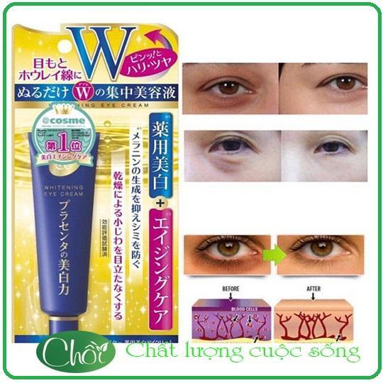 Kem Trị Thâm Quầng Mắt MEISHOKU số 1 Nhật Bản