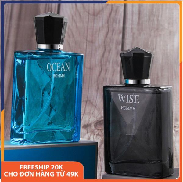 Nước hoa nam chính hãng WiseHome hương thơm nhẹ nhàng và quyến rũ, lưu hương lâu, mùi ngọt, bỏ túi được, mùi hương gỗ, hoa quả, dạng xịt, sang trọng nam tính, full hộp, nước hoa nam cao cấp nội địa Trung 50ml Melystore DNP020