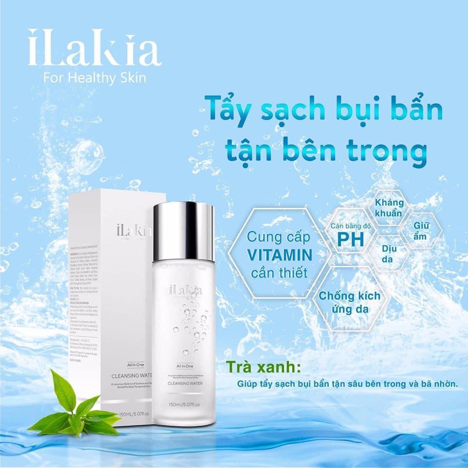 Nước Tẩy Trang Essential Pure Cleasing Water 4 in 1 Dành Cho Da Dầu, Da Nhạy Cảm nhập khẩu
