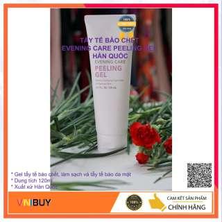 Tẩy tế bào chết Evening Care Peeling Gel Hàn Quốc 120ml, làm sạch và tẩy tế báo da mặt - VNIBUY thumbnail