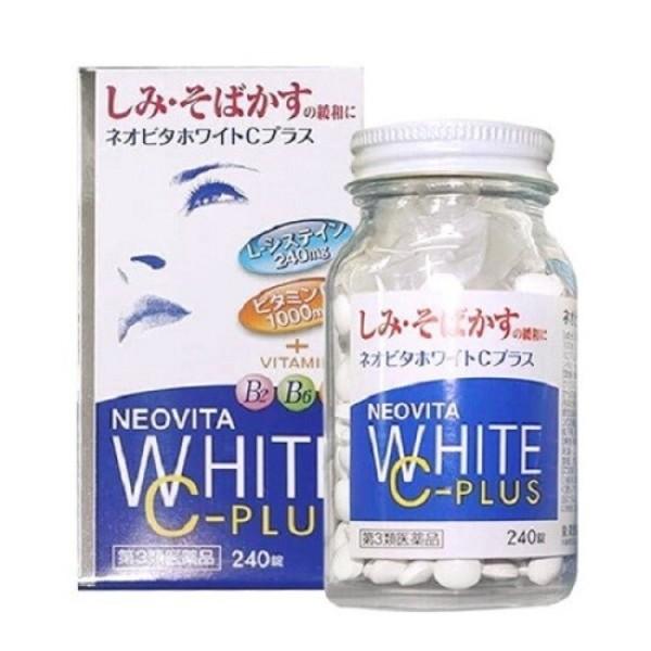 Viên uống trắng da, mờ thâm nám Vita White Plus 240 viên Nhật Bản giá rẻ