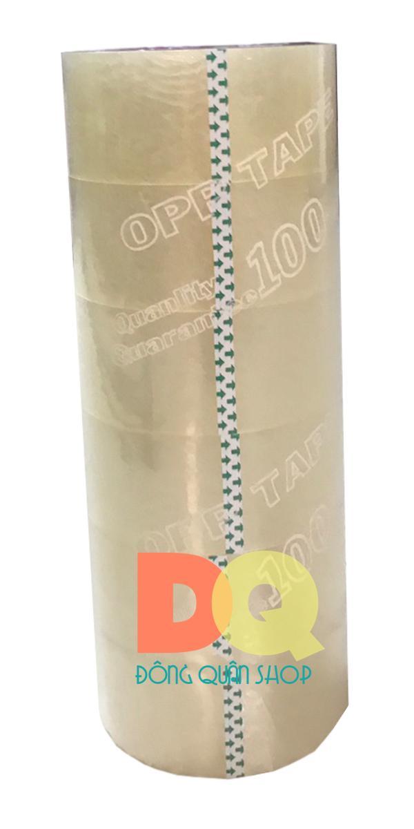 Mua Combo 6 cuộn Băng keo trong 48mm x 100Y (92 mét)