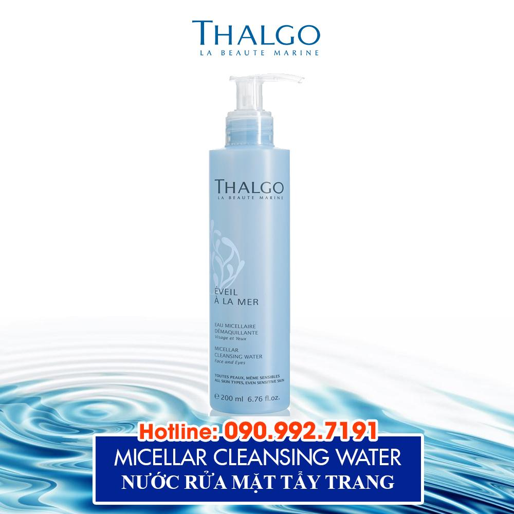 Nước Rửa Mặt Tẩy Trang Thalgo Micellar Cleansing Water 200ml
