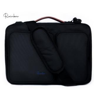 Túi chống sốc Laptop Canvas cao cấp kháng nước Rainbow BG001 màu đen 15.6 inch thumbnail