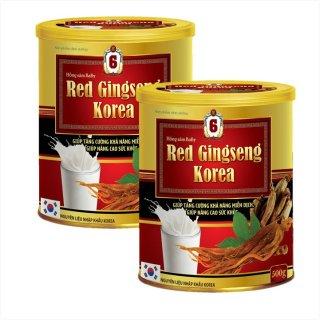 [Hộp 500g] Sữa Bột Hồng Sâm Baby Red Gingseng Korea- Giúp Tăng Cường Khả Năng Miễn Dịch, Nâng Cao Sức Khỏe, - Nguyên Liệu Nhập Khẩu Korea thumbnail