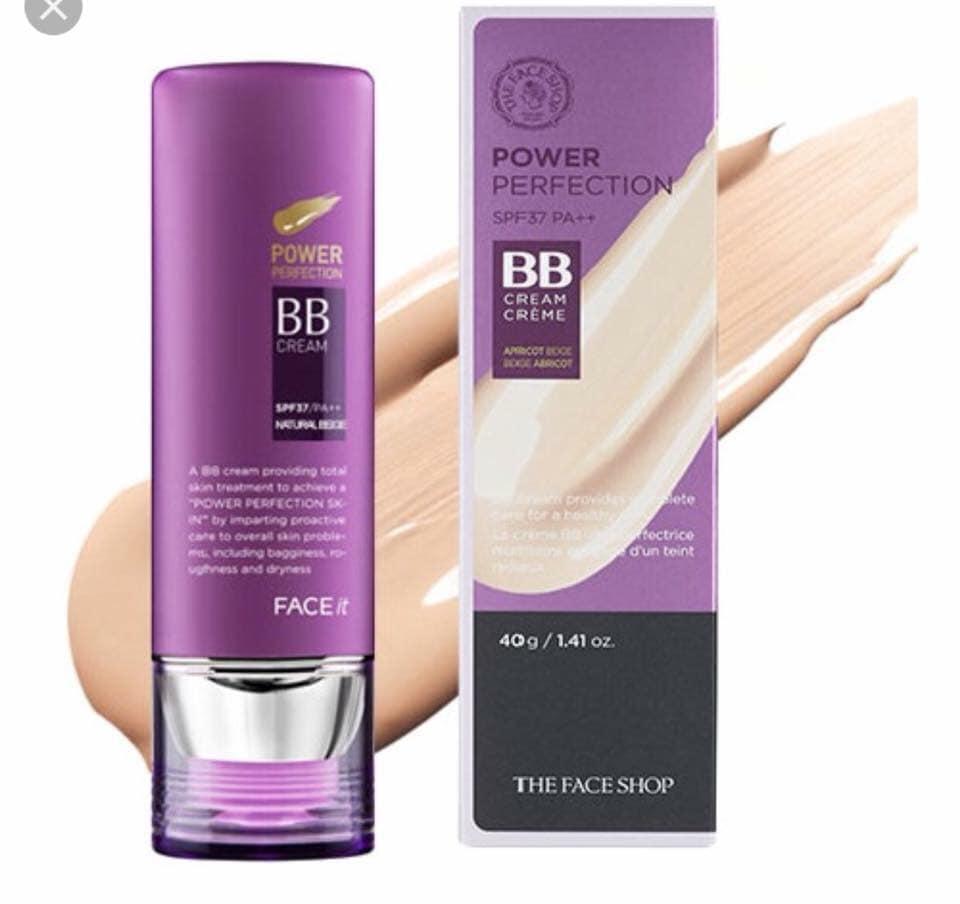 Kem Nền Đa Năng BB cream Face it power perfection The Face Shop tốt nhất