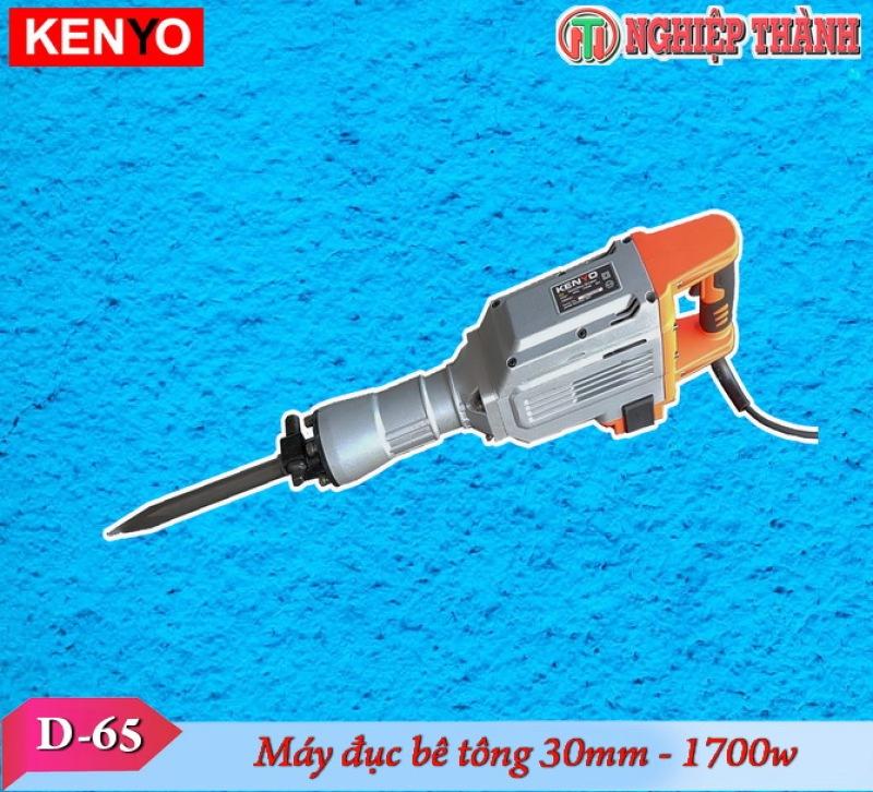 Máy đục bê tông 30mm Kenyo D65 (1700w)