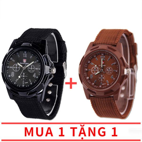 【Mua 1 tặng 1】Đồng hồ lính giá rẻ, phù hợp cả nam và nữ