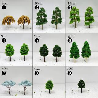 Mô hình cây các loại trang trí tiểu cảnh, terrarium, chậu cây cảnh, sen đá, xương rồng thumbnail