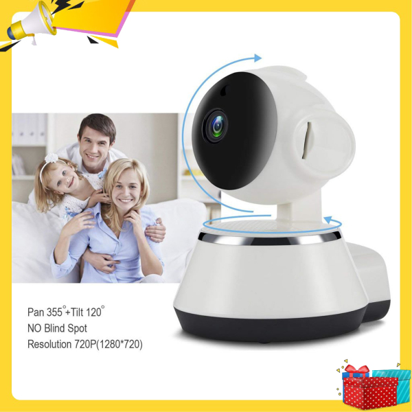 Camera wifi, Camera giám sát, Camera wifi mini,Cam chống trộm, camera wifi IP V380 xoay 270 độ -Hàng nhập khẩu cho hình ảnh sắc nét full HD- bảo hành uy tin 12 tháng- Miễn phí đổi trả-Giao hàng toàn quốc