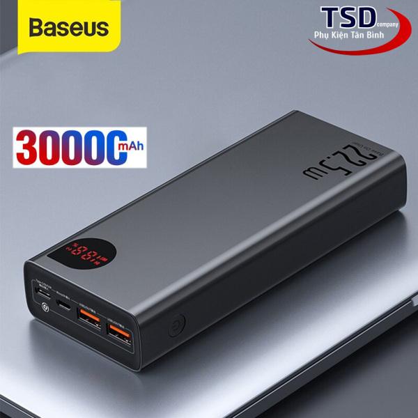 Pin Dự Phòng Baseus Adaman 30000mAh Chính Hãng ( 22.5W, 30000mAh, QC3.0/ PD3.0/ SCP/ AFC Quick charge Power Bank )