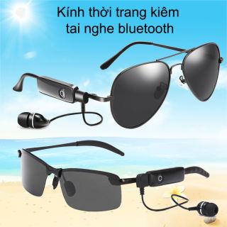 [MẪU MỚI-CỰC HOT] Mắt Kính Thời Trang Kiêm Tai Nghe Bluetooth thông minh-Kính Đổi Màu-Kính nghe nhạc Bluetooth mp3 NBC BT-2 .Vừa bảo vệ đôi mắt chồng tia uv - vừa tích hợp tính năng nghe nhạc, kết nối điện thoại thumbnail