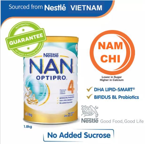 Sữa Nestlé NAN Optipro 4 1.8KG ( Hỗ trợ tiêu...